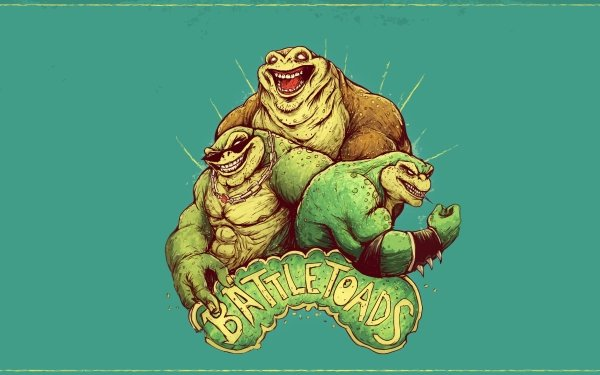 Video Game Battletoads HD Wallpaper   Background Image