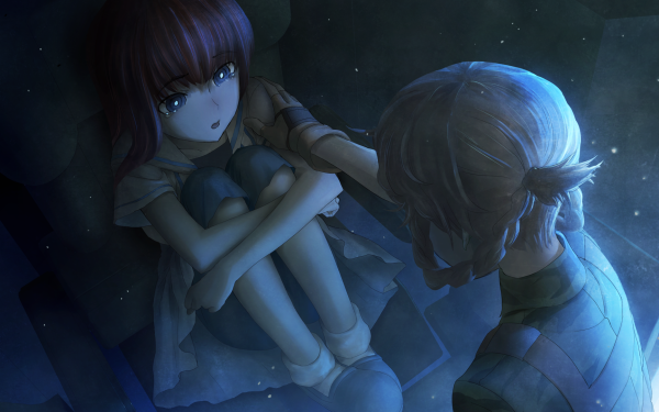 Anime Steins;Gate 0 Suzuha Amane Kagari Shiina HD Wallpaper | Background Image