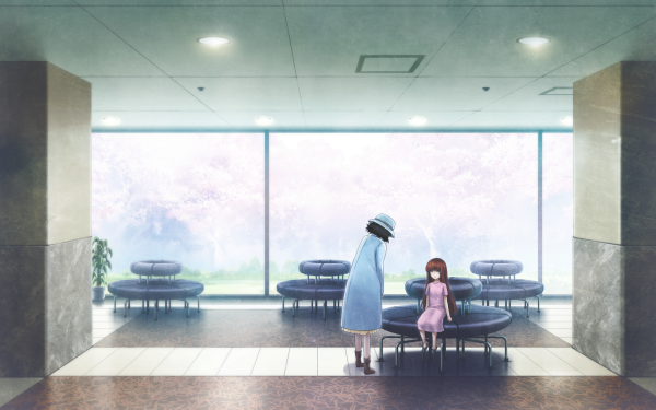 Anime Steins;Gate 0 Mayuri Shiina Kagari Shiina HD Wallpaper | Background Image