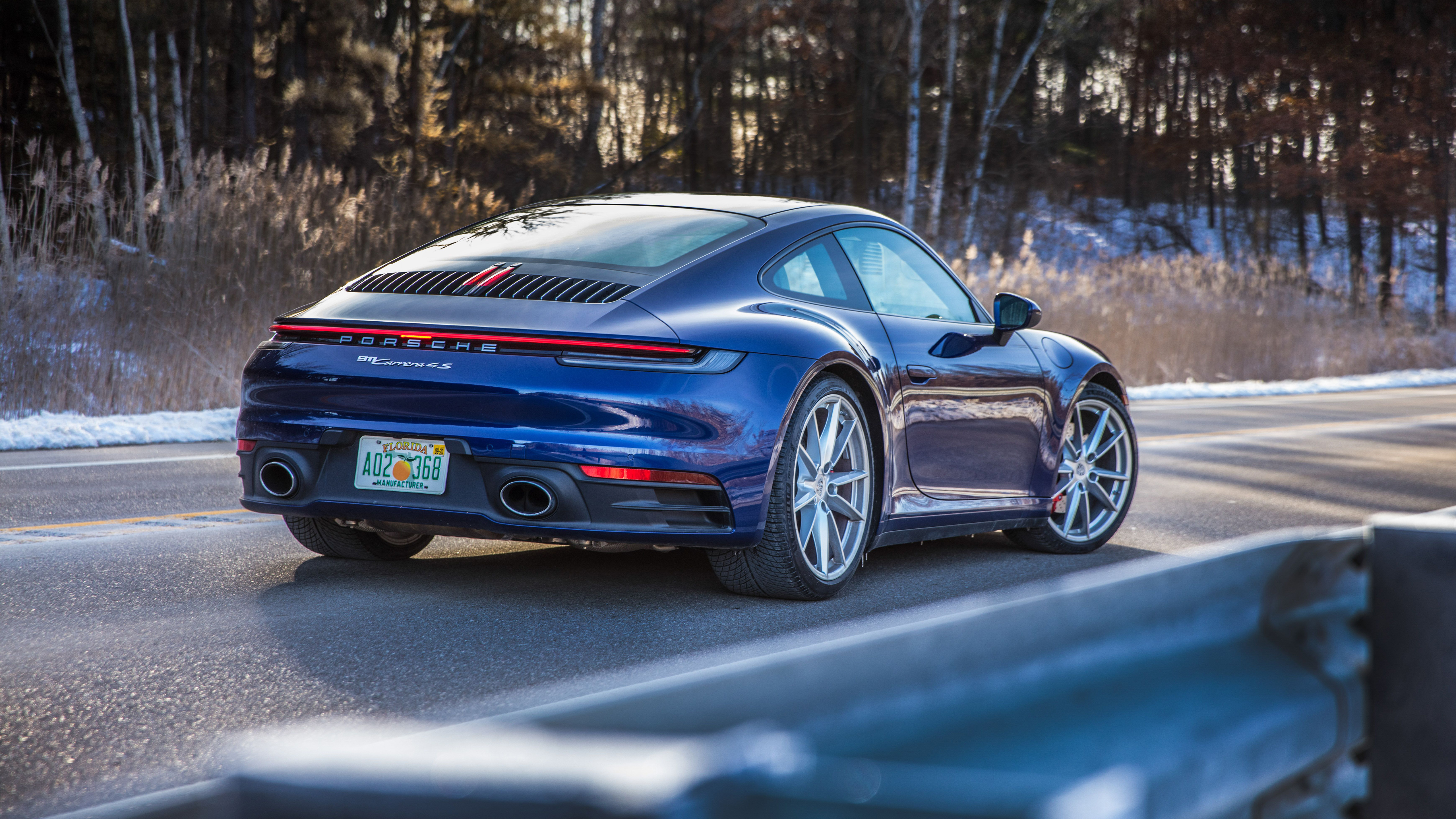 2020 Porsche 911 Carrera Spy Shoot