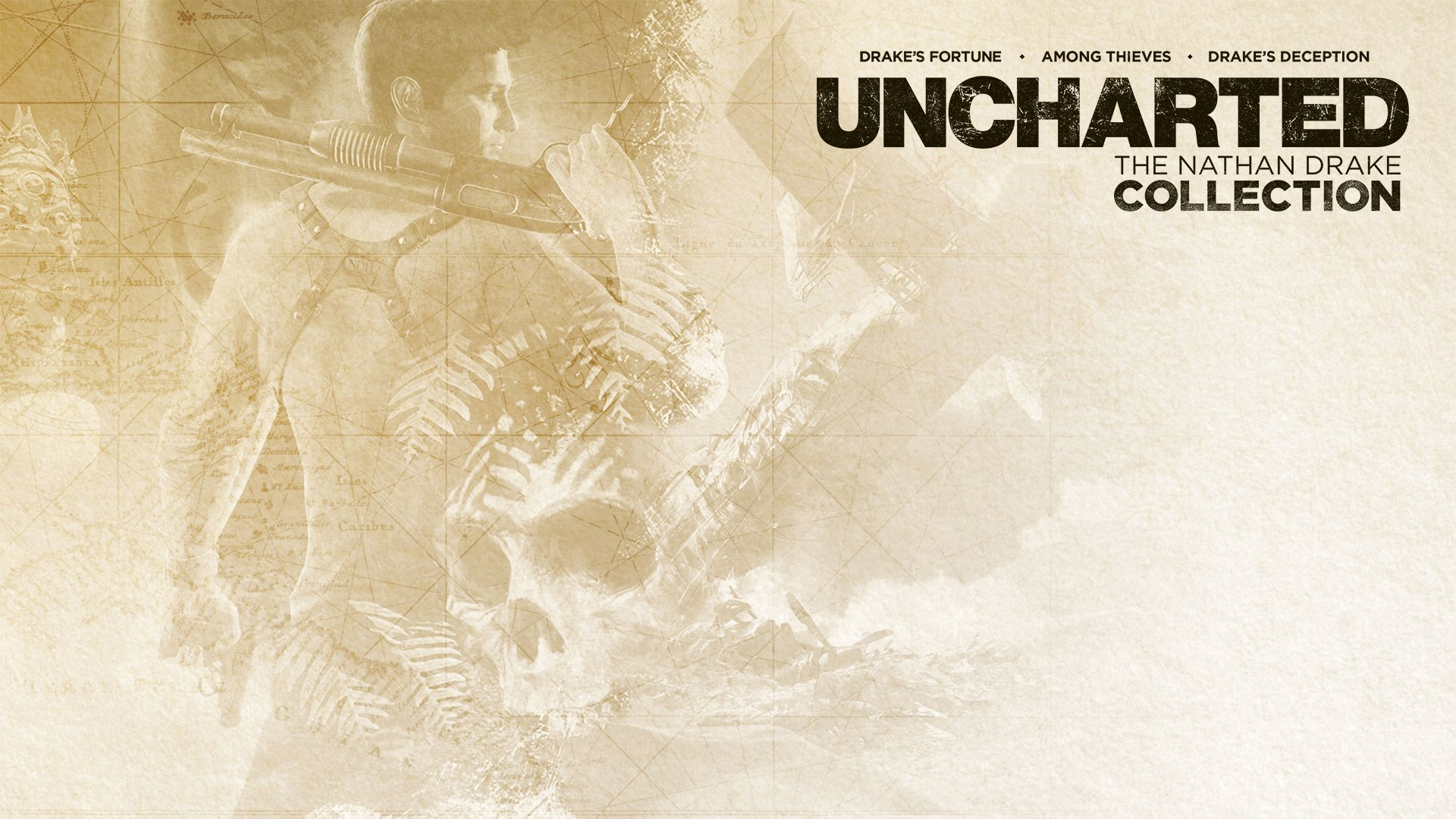 Uncharted The Nathan Drake Collection Hd Wallpaper Background