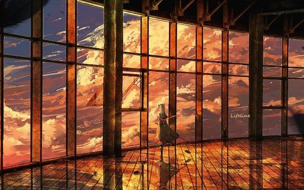 Anime Original Cloud HD Wallpaper | Background Image