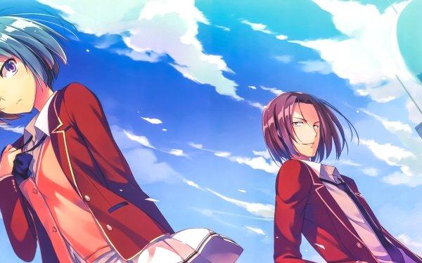 Anime Classroom of the Elite Mio Ibuki Kakeru Ryūen HD Wallpaper   Background Image