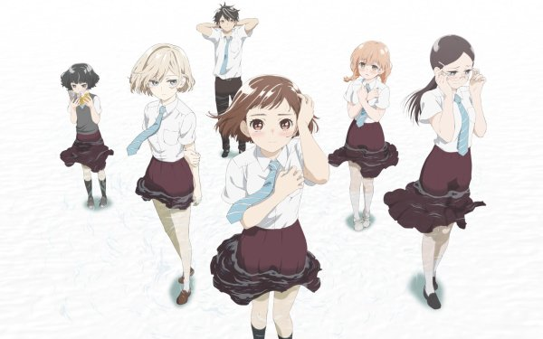 Anime Maidens of the Savage Season Niina Sugawara Izumi Norimoto Hitoha Hongō Kazusa Onodera Momoko Sudō Rika Sonezaki HD Wallpaper | Background Image