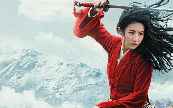 Movie Mulan (2020) Liu Yifei Chinese Actress Model Sword Hua Mulan HD Wallpaper | Background Image