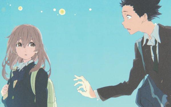 Anime Koe No Katachi Shouya Ishida Shouko Nishimiya HD Wallpaper | Background Image