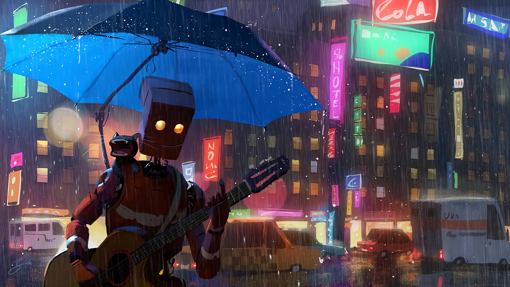 Singing In The Rain Hd Wallpaper Background Image 2160x1215