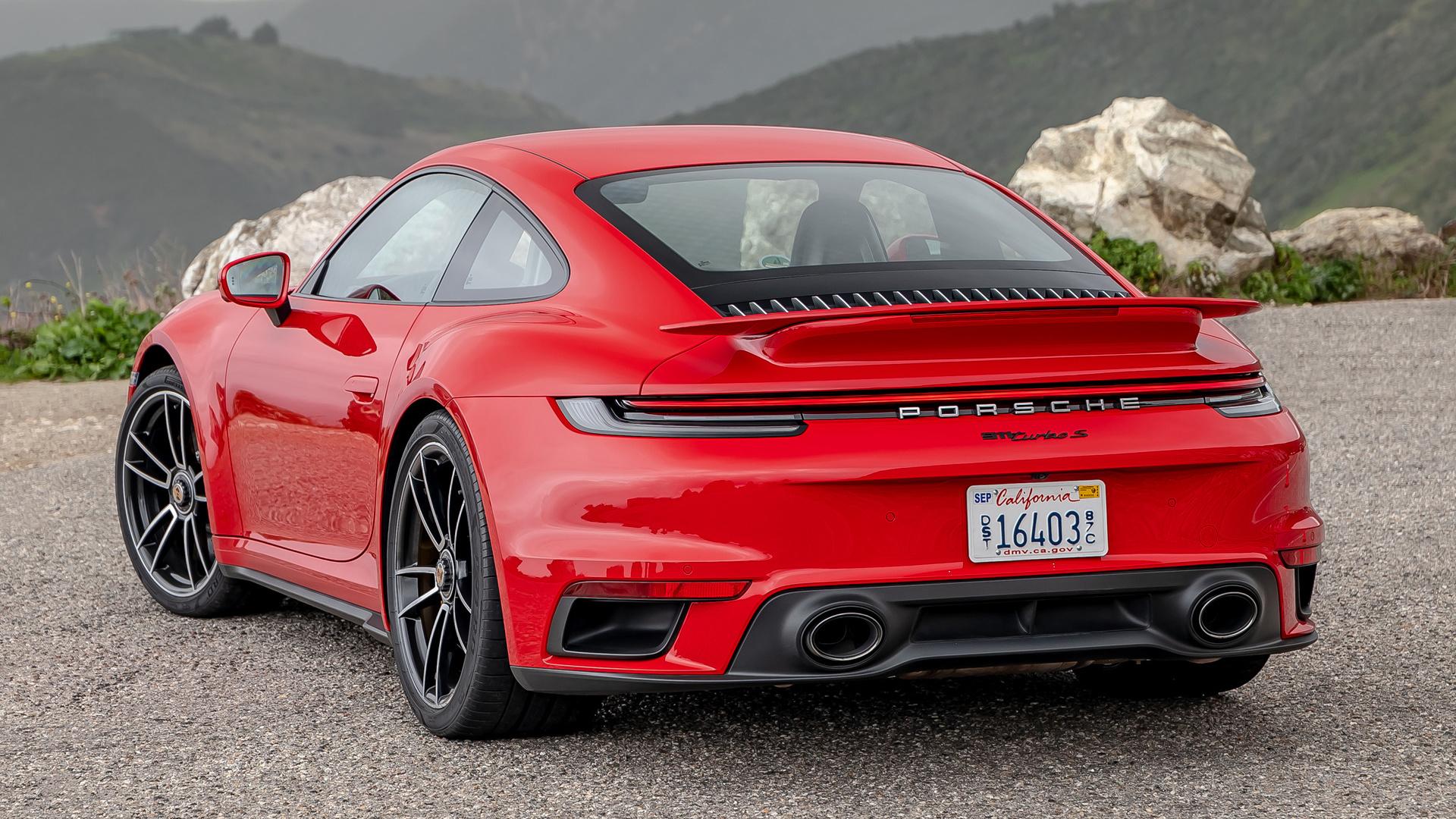 2020 Porsche 911 Turbo S Hd Wallpaper Background Image