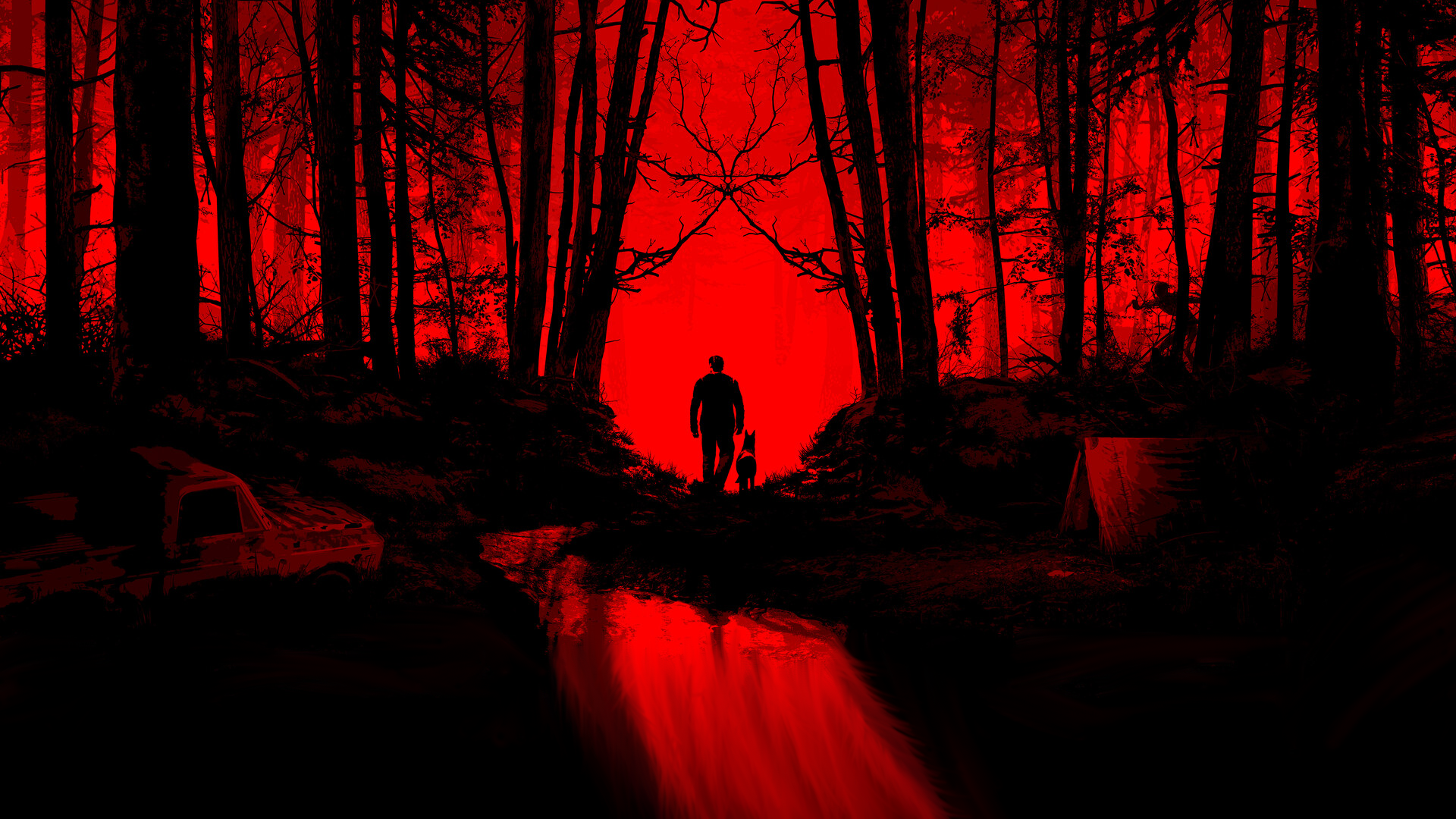 blair witch red and black artwork hd wallpaper background image 1920x1080 id 1079747 wallpaper abyss artwork hd wallpaper background image