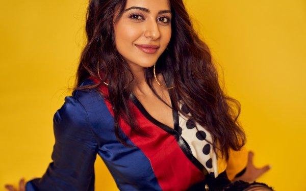 Celebrity Rakul Preet Singh Actresses India Brunette Indian Actress Bollywood Long Hair Brown Eyes HD Wallpaper | Background Image