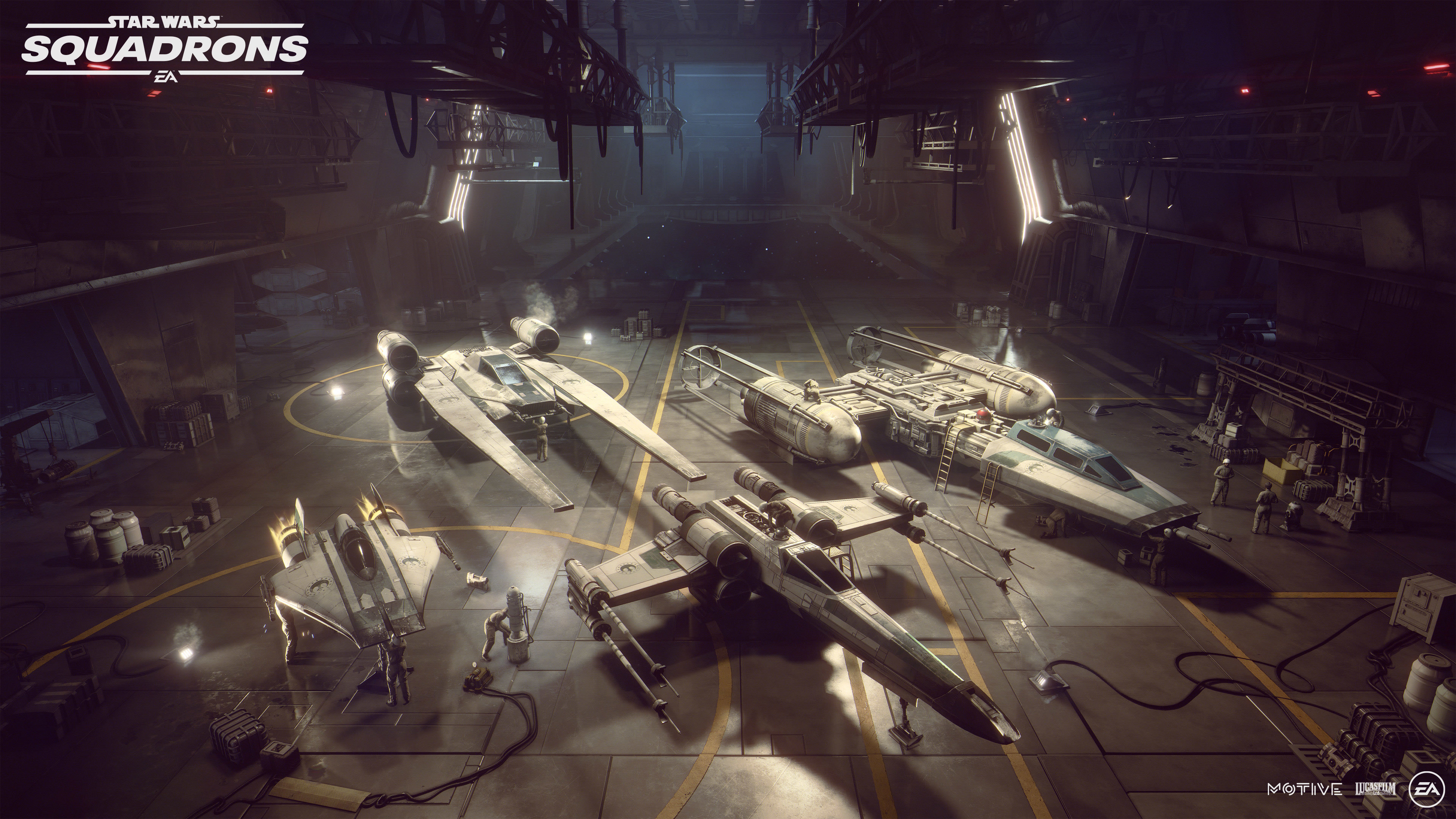 Star Wars Squadrons 4k Ultra Hd Wallpaper Background Image 3840x2160