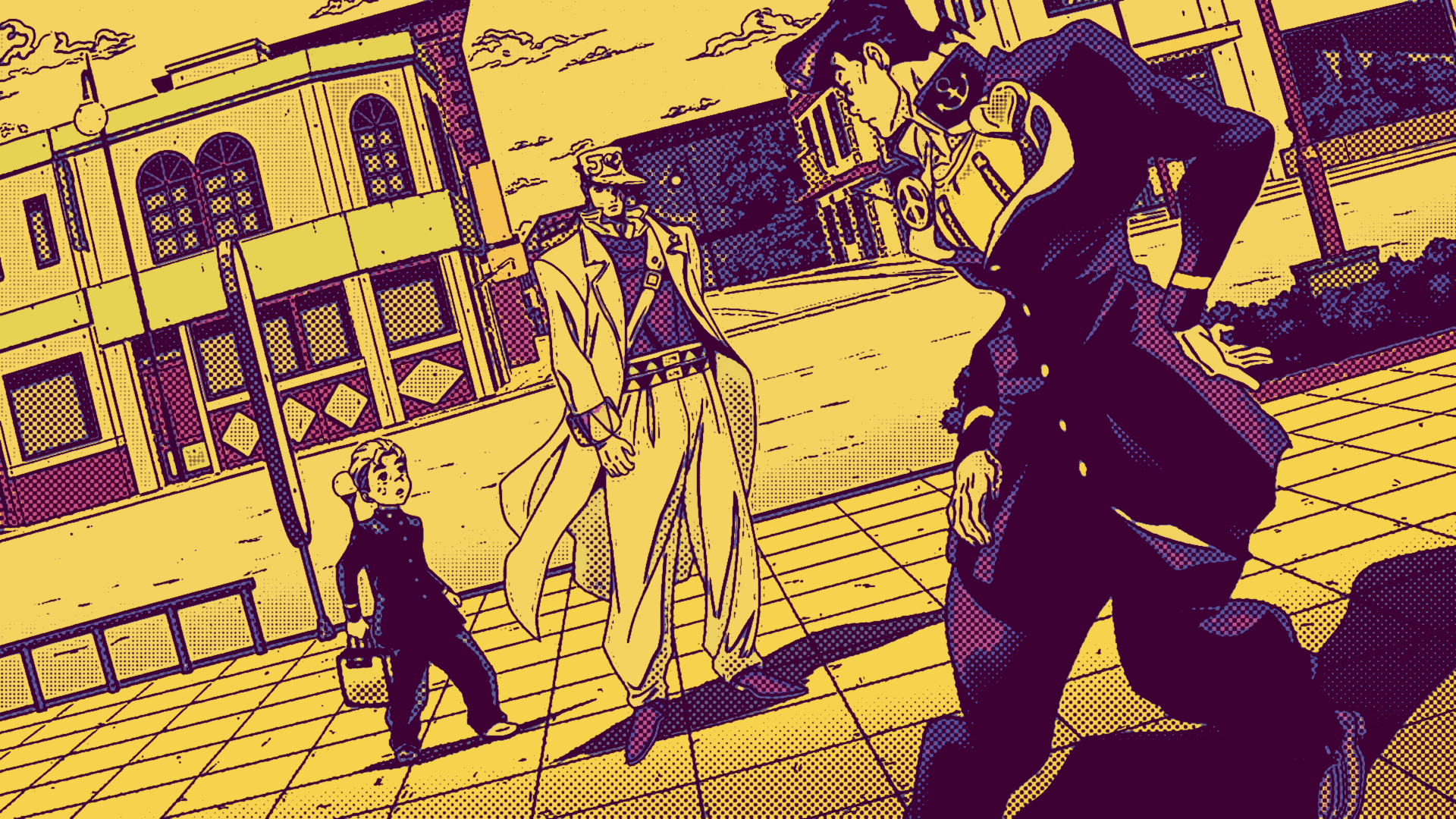 Jojo S Bizarre Adventure Hd Wallpaper Background Image 1920x1080 Id 1080719 Wallpaper Abyss