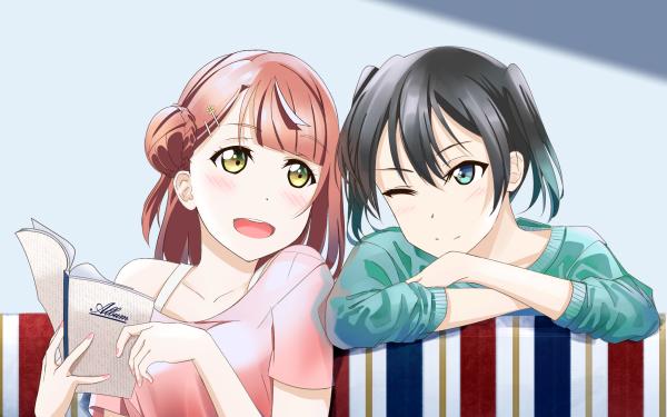 Anime Love Live! Ayumu Uehara Yu Takasaki Nijigasaki Fond d'écran HD | Arrière-Plan