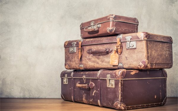 Photography Vintage Suitcase HD Wallpaper | Background Image