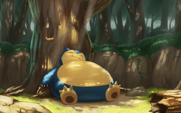 Anime Pokémon Snorlax HD Wallpaper | Background Image