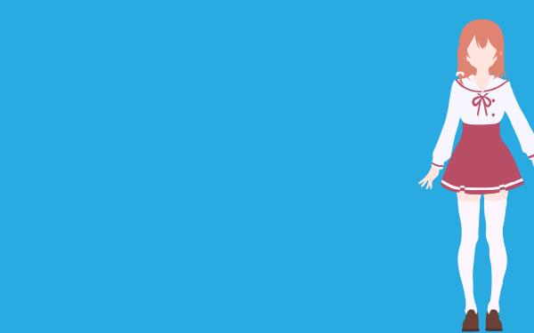 Anime Rent-A-Girlfriend Minimalist Skirt Sumi Sakurasawa HD Wallpaper | Background Image