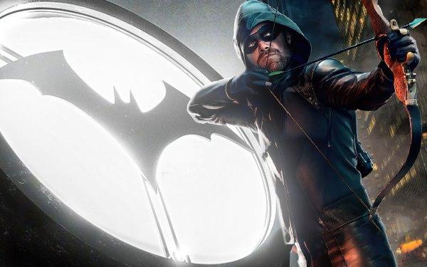 TV Show Arrow Green Arrow Oliver Queen Stephen Amell Bat-Signal HD Wallpaper | Background Image