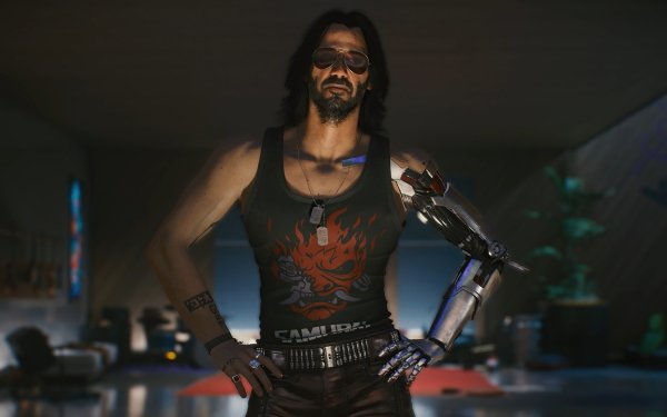 Video Game Cyberpunk 2077 Johnny Silverhand HD Wallpaper | Background Image