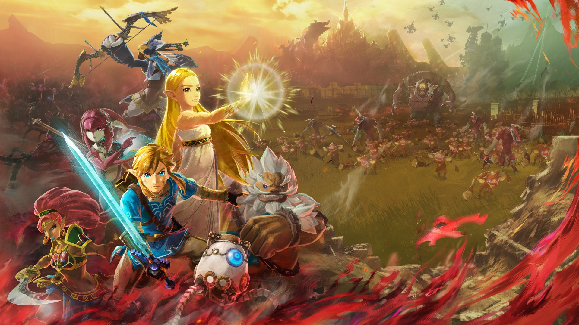 2 Hyrule Warriors Age Of Calamity Hd Wallpapers Background Images Wallpaper Abyss