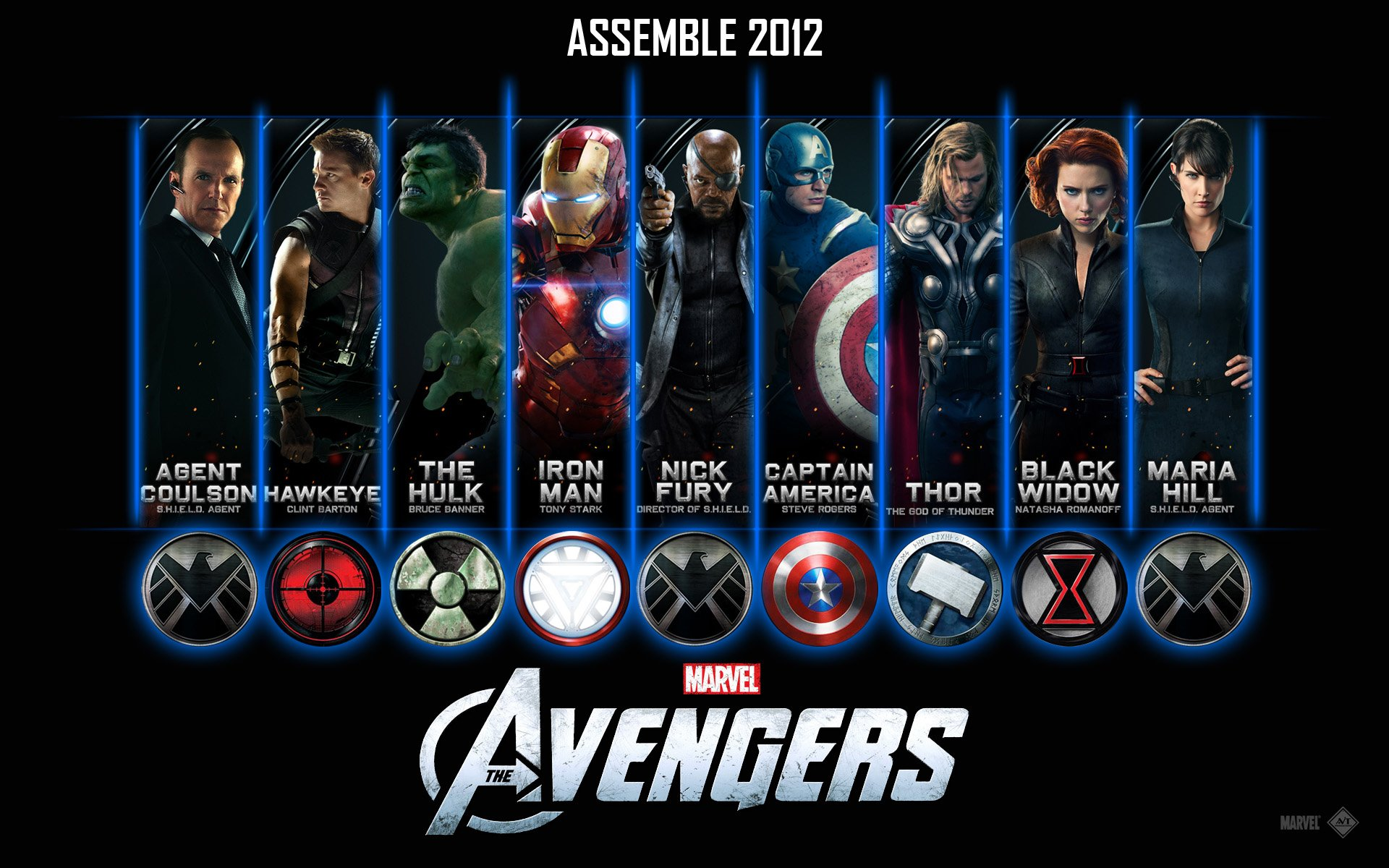 The Avengers Assemble 2012 Cast HD ...