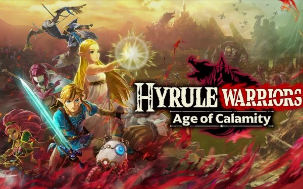 Video Game Hyrule Warriors: Age of Calamity Link Zelda Revali Mipha Urbosa Daruk HD Wallpaper | Background Image