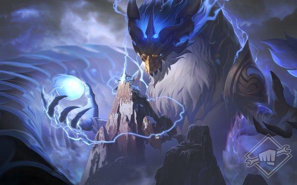 Video Game League Of Legends Aurelion Sol HD Wallpaper   Background Image