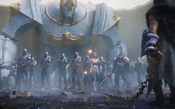 Videojuego League Of Legends Sylas Lux Galio Garen Fondo de pantalla HD | Fondo de Escritorio