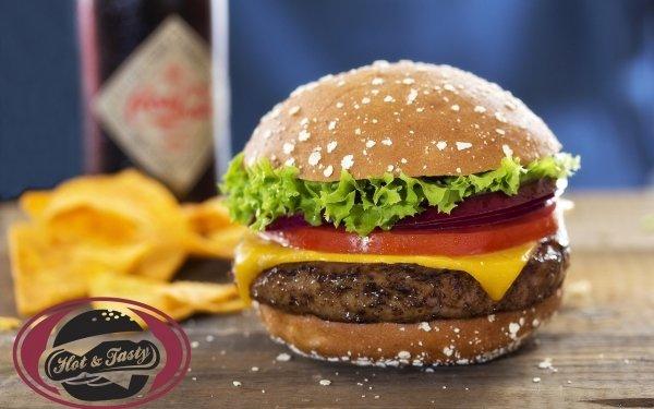 Food Burger Hamburger HD Wallpaper | Background Image