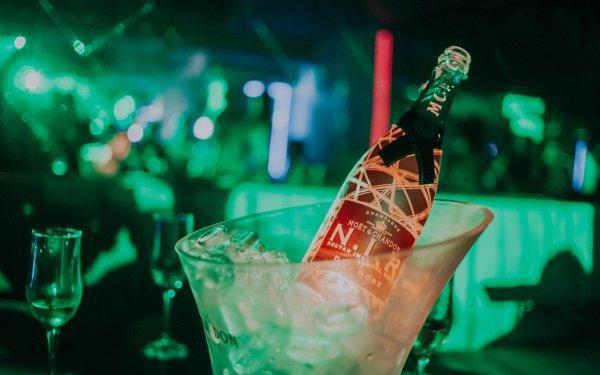 Food Champagne Light Nightclub HD Wallpaper | Background Image
