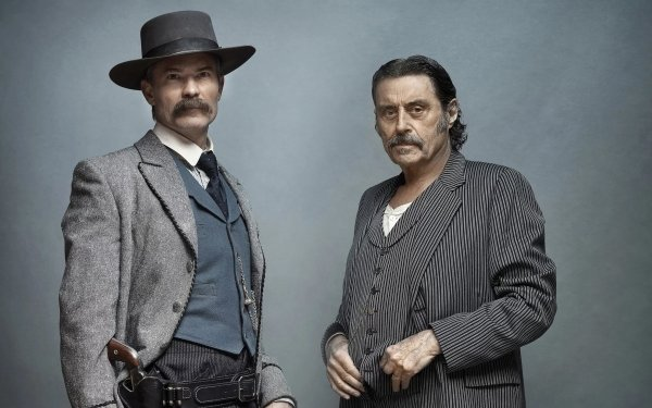 Movie Deadwood: The Movie Timothy Olyphant Ian McShane HD Wallpaper | Background Image