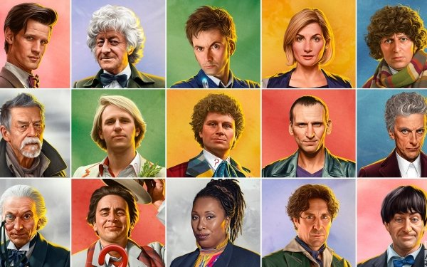 Séries TV Doctor Who The Doctor Fond d'écran HD | Image
