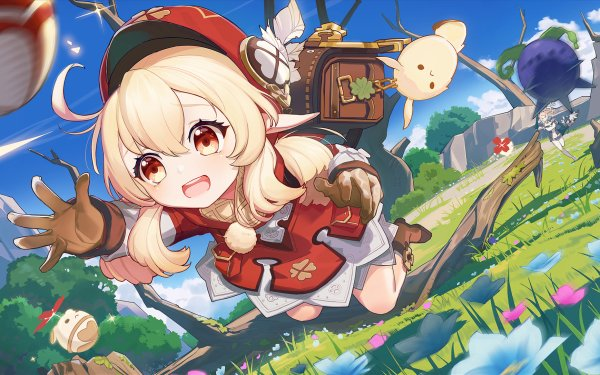 Video Game Genshin Impact Klee HD Wallpaper | Background Image