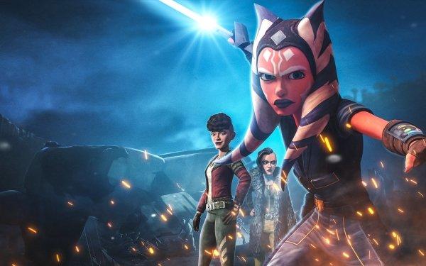 TV Show Star Wars: The Clone Wars Star Wars Ahsoka Tano HD Wallpaper | Background Image