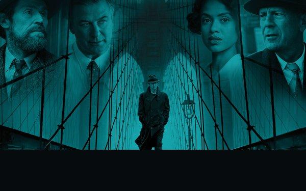 Movie Motherless Brooklyn Edward Norton Alec Baldwin Bruce Willis Willem Dafoe HD Wallpaper | Background Image
