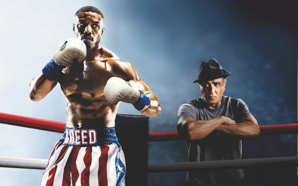 Movie Creed II Adonis Creed Rocky Balboa Michael B. Jordan Sylvester Stallone HD Wallpaper | Background Image