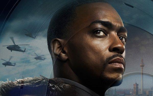 Séries TV Falcon et le Soldat de l'hiver Falcon Sam Wilson Anthony Mackie Fond d'écran HD | Arrière-Plan