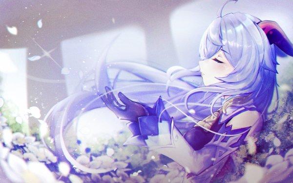 Video Game Genshin Impact Ganyu HD Wallpaper | Background Image