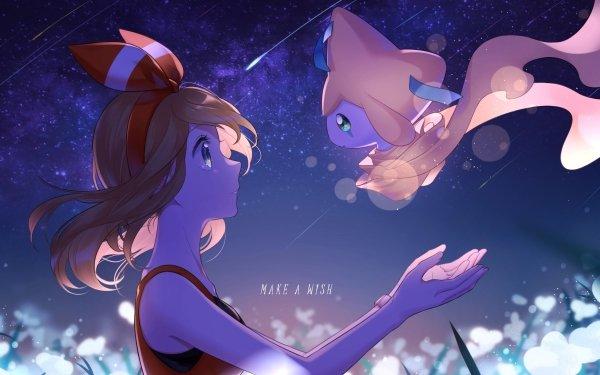 Anime Pokémon May Chica Fondo de pantalla HD | Fondo de Escritorio