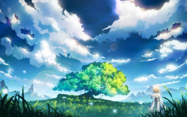 Videospel Genshin Impact Lumine HD Wallpaper | Achtergrond