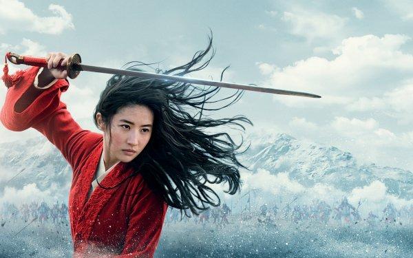Movie Mulan (2020) Liu Yifei Chinese Actress Sword Warrior Hua Mulan HD Wallpaper | Background Image