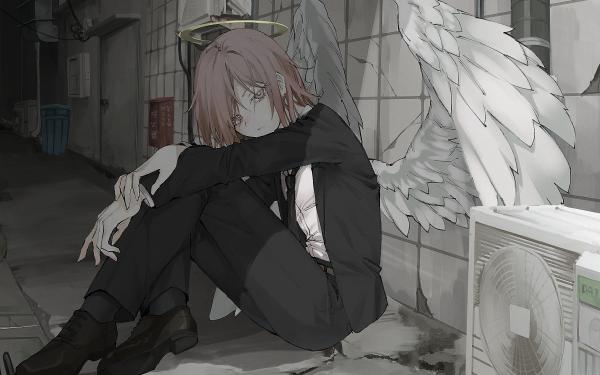 Anime Chainsaw Man Angel Devil HD Wallpaper | Background Image