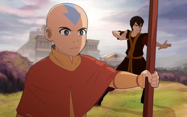 Anime Avatar: The Last Airbender Avatar (Anime) Aang Zuko HD Wallpaper   Background Image