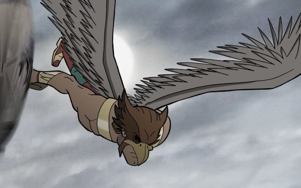 Movie Justice Society: World War II Justice League Hawkman Carter Hall Wings HD Wallpaper | Background Image