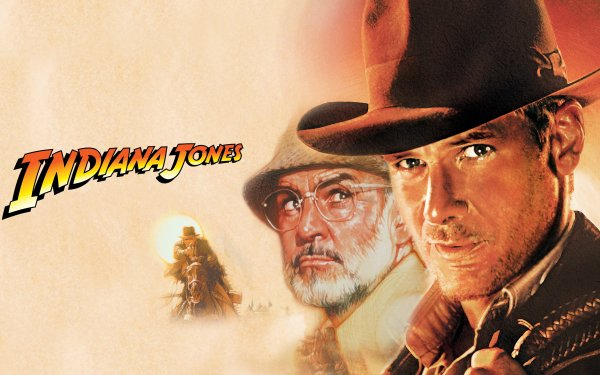 Movie Indiana Jones and the Last Crusade Indiana Jones Harrison Ford Sean Connery HD Wallpaper | Background Image