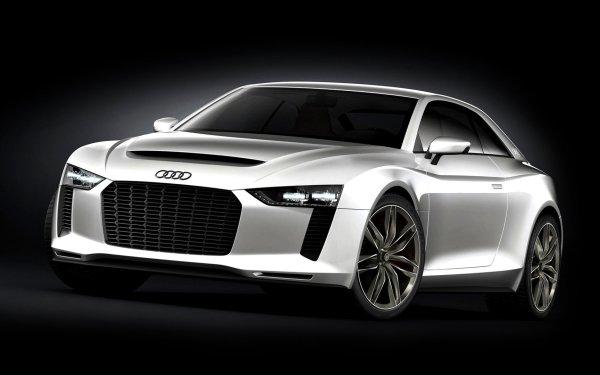 Vehicles Audi Quattro Audi Concept Car Luxury Car Compact Car Coupé White Car Car HD Wallpaper   Background Image