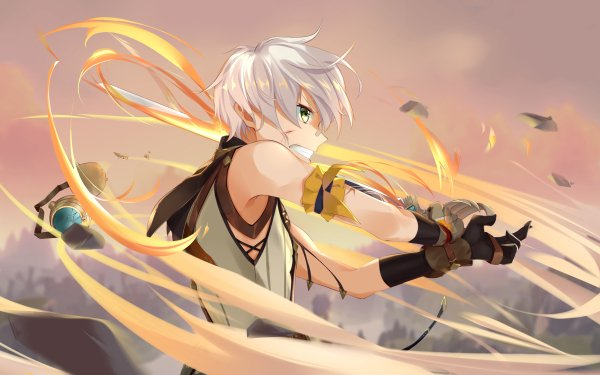 Video Game Genshin Impact Bennett HD Wallpaper | Background Image