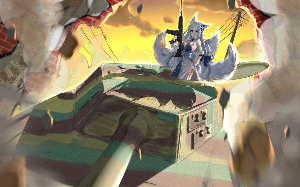 Anime Azur Lane Shinano HD Wallpaper | Background Image