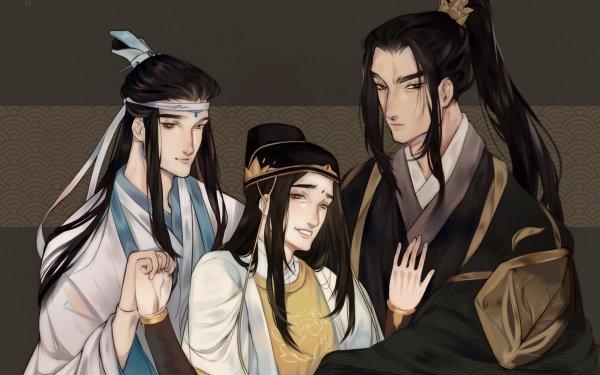 Anime Mo Dao Zu Shi Jin Guangyao Lan Xichen Nie Mingjue HD Wallpaper   Background Image