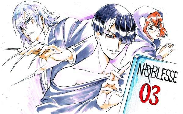Anime Noblesse Han Shinwoo Tao Woo Ik-han HD Wallpaper | Background Image
