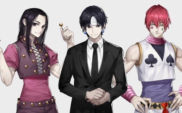 Anime Hunter x Hunter Illumi Zoldyck Chrollo Lucilfer Hisoka HD Wallpaper | Background Image